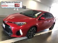 Certified Pre-Owned 2017 Toyota Corolla SE Sedan in Oakland, CA