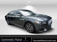 Used 2018 Lincoln Continental Reserve Sedan V-6 cyl For Sale in Duluth