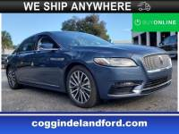 Certified 2018 Lincoln Continental Select Select FWD in Jacksonville FL
