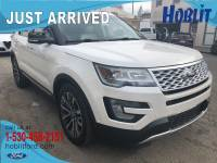 2016 Ford Explorer Platinum AWD 3.5L EcoBoost w/ Moon Roof & Massaging Seats