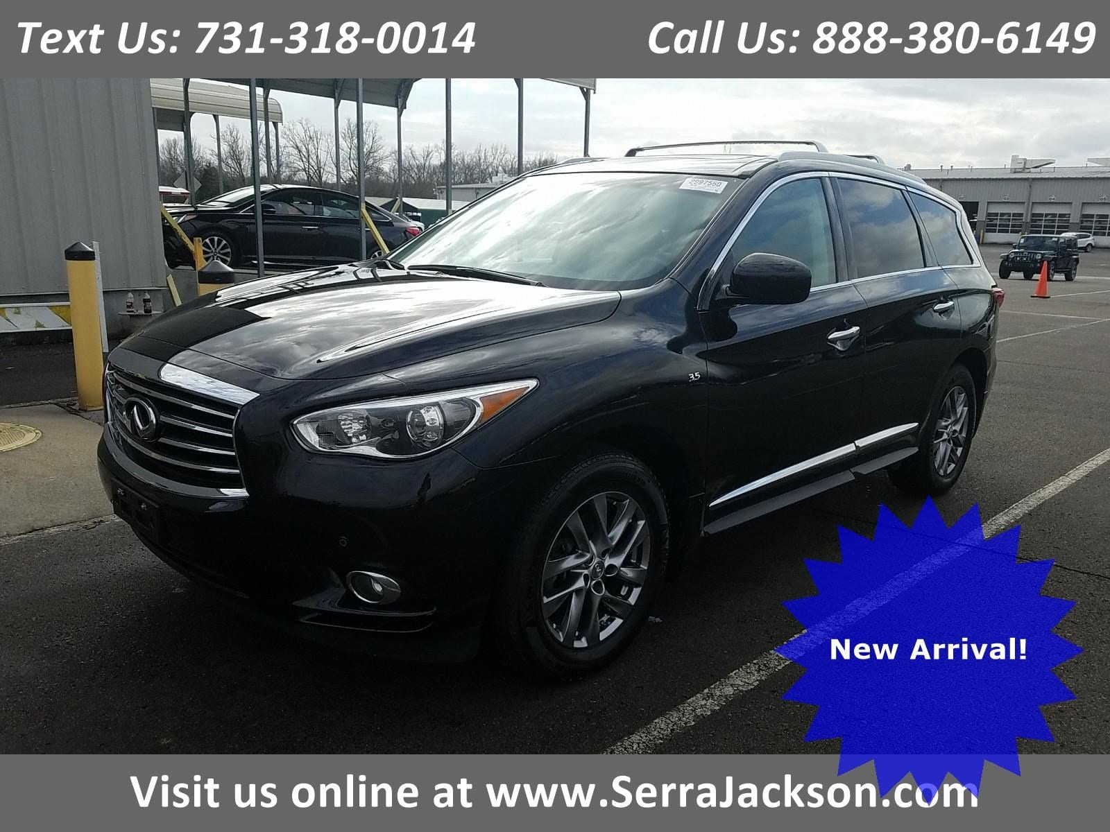 Photo Used 2015 INFINITI QX60 3.5 with Premium Package in Jackson,TN