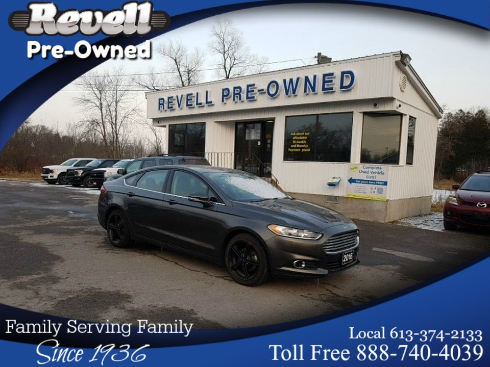 Photo 2016 Ford Fusion SE  1-OWNER  2.0 Ecoboost  Appearance pkg