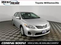 2013 Toyota Corolla LE Sedan For Sale - Serving Amherst