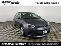 2016 Toyota Corolla LE Sedan For Sale - Serving Amherst