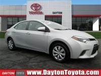 Certified 2016 Toyota Corolla LE Sedan FWD in South Brunswick, NJ