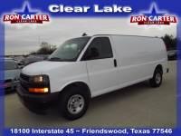 2018 Chevrolet Express 2500 Extended Cargo Low Roof Van near Houston