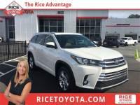 2017 Toyota Highlander Limited SUV All-wheel Drive