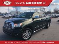 Used 2010 Toyota Tundra 4WD CrewMax Short Bed 5.7L FFV Limited