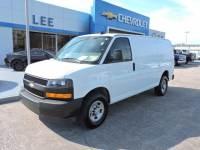 Pre-Owned 2018 Chevrolet Express Cargo Van 2500 Regular Wheelbase Rear-Wheel Drive VIN 1GCWGAFP9J1283106 Stock Number 7592P