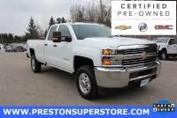 Certified Used 2017 Chevrolet Silverado 2500HD Work Truck Truck in Burton, OH