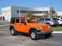 Pre-Owned 2012 Jeep Wrangler Unlimited 4WD 4dr Sport 4WD