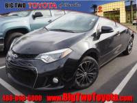 Certified Pre Owned 2014 Toyota Corolla LE Plus LE Plus Sedan for Sale in Chandler and Phoenix Metro Area