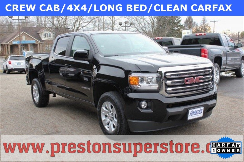 Photo Certified Used 2016 GMC Canyon SLE1 Truck in Burton, OH