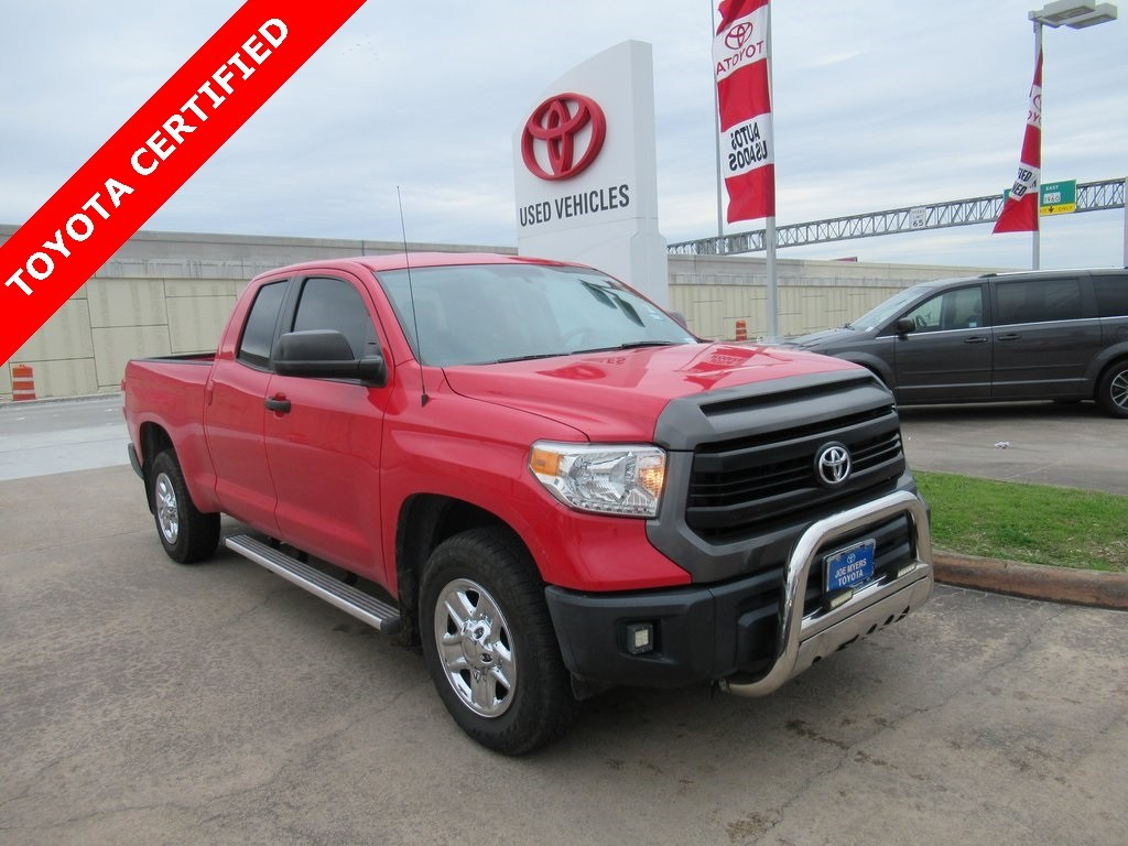 Photo Certified 2014 Toyota Tundra SR Truck RWD For Sale