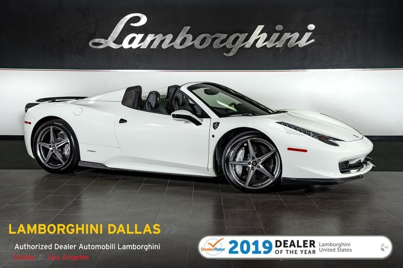 Photo Used 2014 Ferrari 458 Italia For Sale Richardson,TX  Stock L1161 VIN ZFF68NHA0E0197046