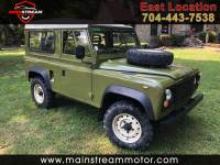 1987 Land Rover Defender 90 2-Door 4WD
