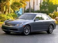 2006 INFINITI G35 X Sedan
