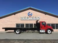 2012 Freightliner M2 Flatbed Truck
