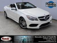 2016 Mercedes-Benz E-Class E 550 2dr Cabriolet RWD in Franklin