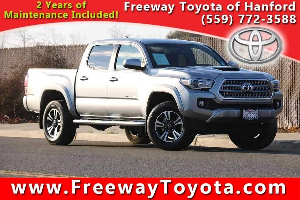 Photo 2017 Toyota Tacoma Truck Double Cab 4x2 - Used Car Dealer Serving Fresno, Central Valley, CA