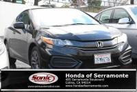 Pre-Owned 2014 Honda Civic Coupe LX CVT