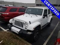 Used 2016 Jeep Wrangler Unlimited Sahara SUV | Cincinnati