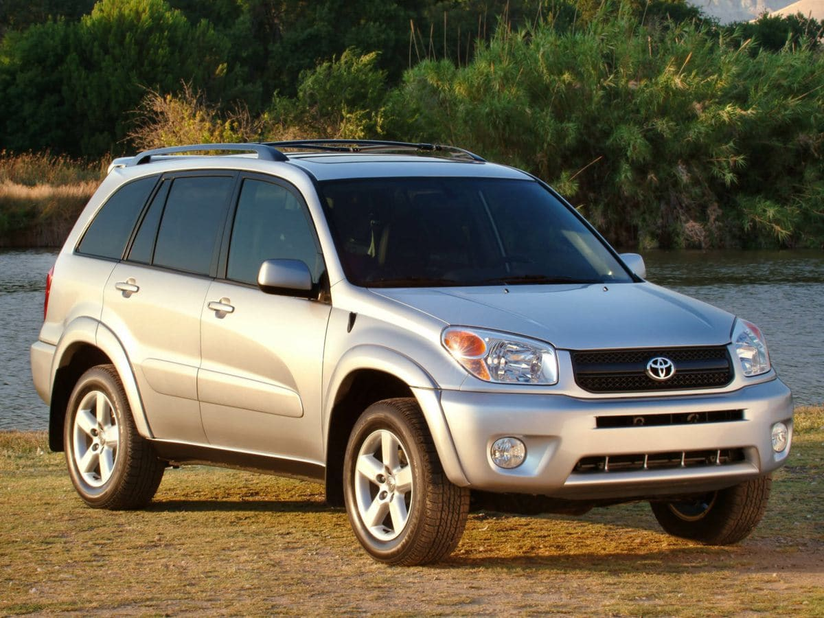 Photo Used 2004 Toyota RAV4 Base SUV AWD For Sale in Houston