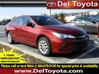 Certified Pre-Owned 2016 Toyota Camry For Sale in Thorndale, PA | Near Malvern, Coatesville, West Chester & Downingtown, PA | VIN:4T1BF1FK1GU582985