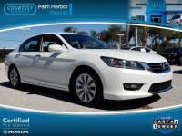 Certified 2014 Honda Accord EX-L w/Navigation Sedan in Tampa FL