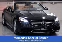 2017 Mercedes-Benz AMG S 63 AMG S 63 Cabriolet in Boston