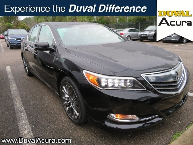 Photo Used 2016 Acura RLX For Sale at Duval Acura  VIN JH4KC1F58GC000151