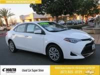 Used 2017 Toyota Corolla LE Available in Elk Grove CA