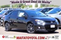 Used 2014 Toyota Corolla Available in Sacramento CA