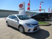 Used 2016 Toyota Corolla LE Sedan FWD For Sale in Houston