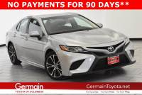 Certified Pre-Owned 2018 Toyota Camry SE FWD 4dr Car