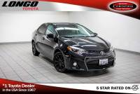 Certified Used 2016 Toyota Corolla CVT S Special Edition in El Monte