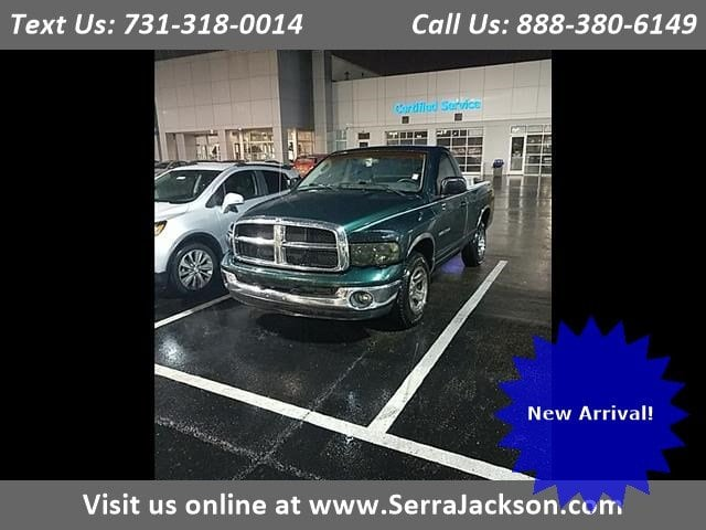 Photo Used 2002 Dodge Ram 1500 ST in Jackson,TN