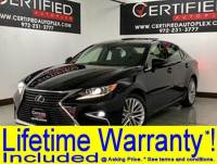 2016 Lexus ES 350 SAFETY SYSTEM PLUS PKG NAVIGATION PANORAMIC ROOF ADAPTIVE CRUISE CONTROL BL