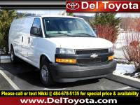 Used 2018 Chevrolet Express Cargo Van 2500 RWD 155 For Sale in Thorndale, PA | Near West Chester, Malvern, Coatesville, & Downingtown, PA | VIN: 1GCWGBFP7J1257304