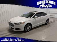 2016 Ford Fusion TITANIUM ECOBOOST Sedan in Duncansville | Serving Altoona, Ebensburg, Huntingdon, and Hollidaysburg PA