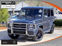 Certified Pre-Owned 2016 Mercedes-Benz G-Class AMG® G 63 4MATIC® AWD 4MATIC® SUVs
