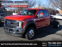2019 Ford F-550 Crew Cab 4x4 Lariat Chassis Cab