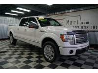 2010 Ford F-150 Platinum SuperCrew 4X4 2 OWNER! 26 Srvc Rcds! 135K