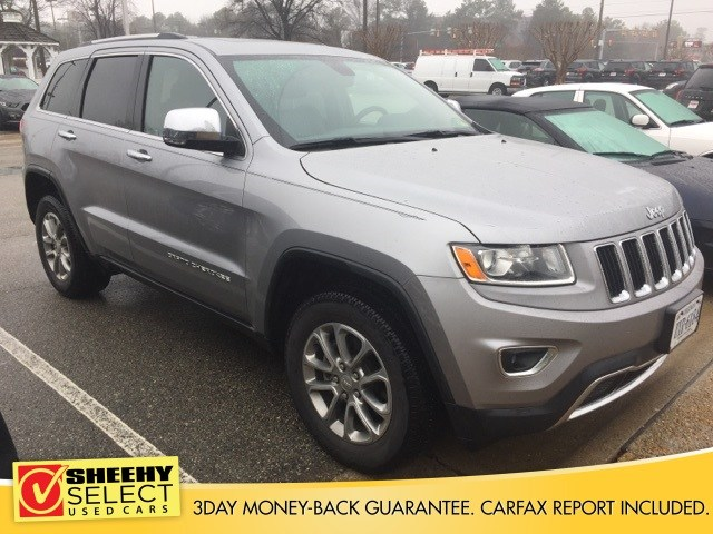 Photo Used 2015 Jeep Grand Cherokee Limited SUV V-6 cyl for sale in Richmond, VA