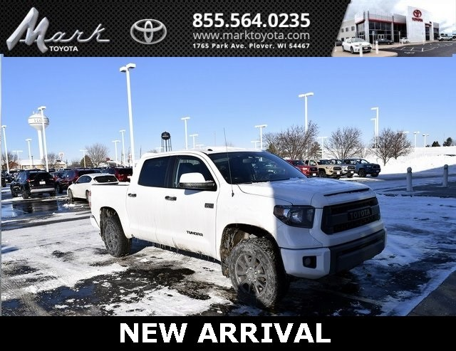 Photo Certified Pre-Owned 2016 Toyota Tundra TRD Pro CrewMax 5.7L V8 4x4 wFactory Spray In Bed Truck in Plover, WI