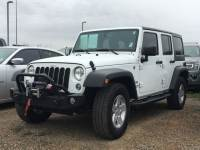 Used 2017 Jeep Wrangler JK Unlimited Sport 4x4 SUV V-6 cyl For Sale in Surprise Arizona