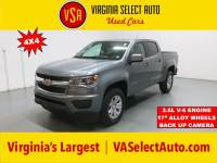 Used 2018 Chevrolet Colorado LT 4x4 Truck for sale in Amherst, VA