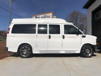 2014 GMC Savana Cargo Van RWD 15 Sherrod Custom High Top Conversion
