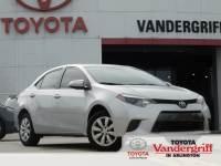 2016 Toyota Corolla LE Sedan Front-wheel Drive