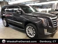 Used 2017 Cadillac Escalade Luxury SUV in Danbury, CT
